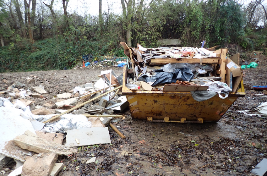 Decade of waste offences see Corby skip firm owner jailed and facing costs of lb750,000